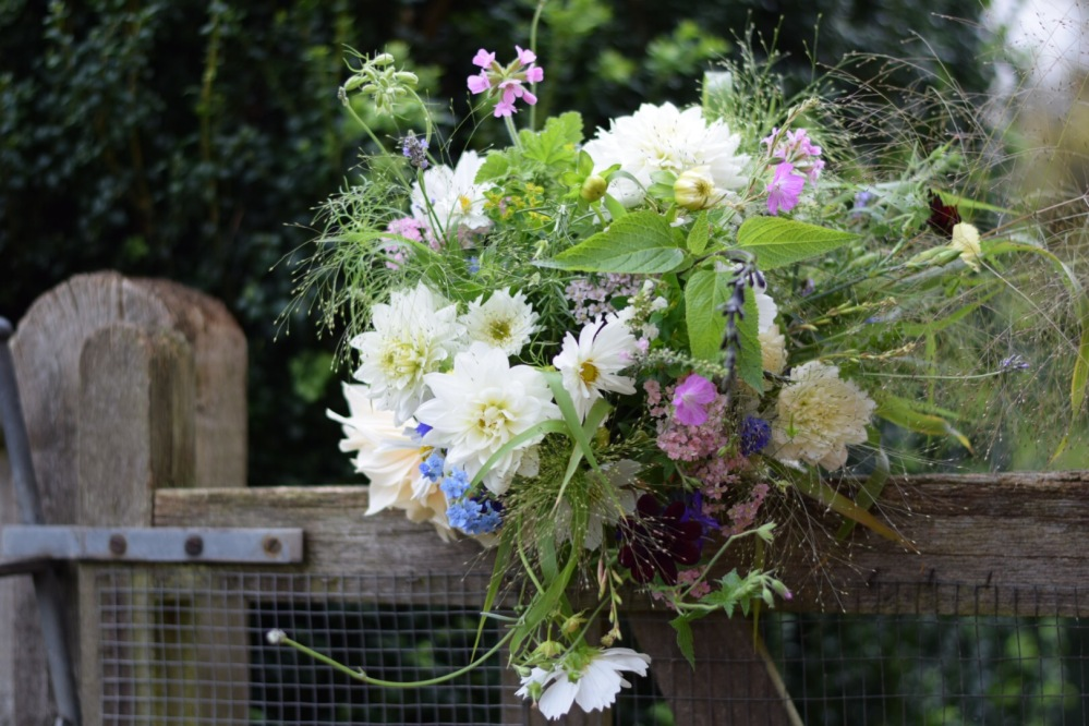 Natural Seasonal Flowers, Summer at Swan Cottage