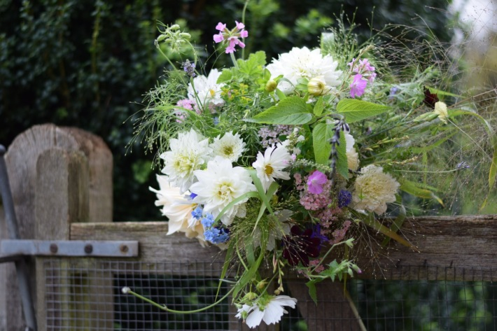 Bridal Bouquet, Wedding Flower Costs, Bouquets and Buttonholes, Swan Cottage Flowers, Natural Seasonal Flowers, Summer at Swan Cottage