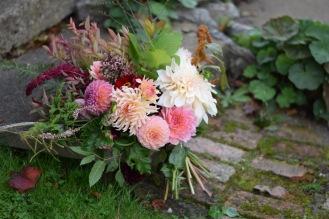 Wedding Flowers, Bridal Bouquet, Swan Cottage Flowers on the Buckinghamshire, Bedfordshire border