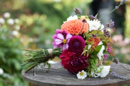 Bridal Bouquet, Wedding Flower Costs, Bouquets and Buttonholes, Swan Cottage Flowers