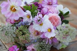 Wedding Flowers, British Flowers, DIY Flower Buckets