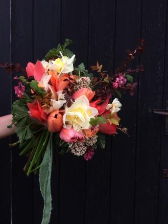 Vibrant Bouquet arranged by Lois Golding