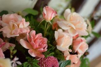 Seasonal Garden Gathered Flowers, Summer at Swan Cottage Flower Farm