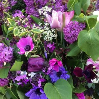 Seasonal Wedding Flowers, Spring Anemones
