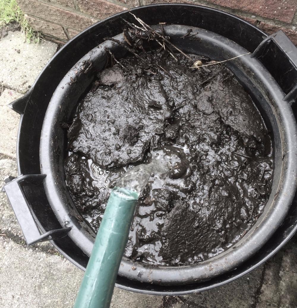 Tree Bucket and Trug combo to make Compost Tea