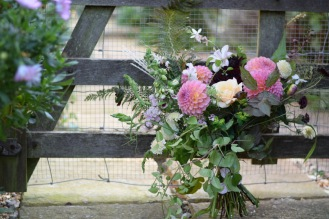 DIY Wedding Flowers, Wedding Flowers, Autumn Bouquet
