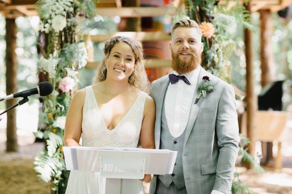 A Flower Arch, Real DIY Wedding Flowers, Floral Archways