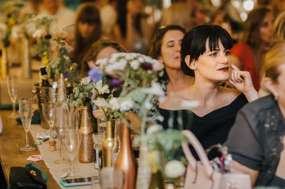 DIY Wedding Flowers, Lilas Wood, Woodland Wedding