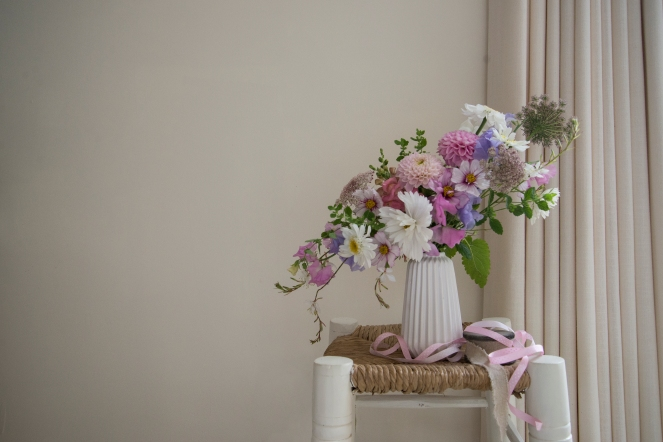 Swan Cottage Flowers by Lois Golding, British Summer Flowers