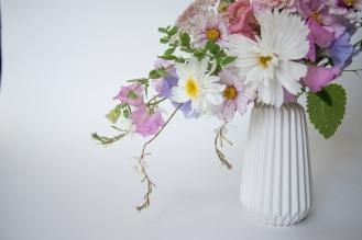 Little Garden using Swan Cottage British Seasonal Flowers
