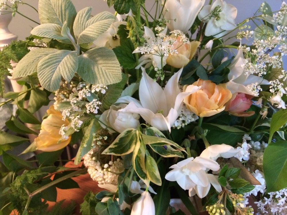 Blush Wedding Flowers, Swan Cottage Flower Farm, a Wedding Florist with a twist!