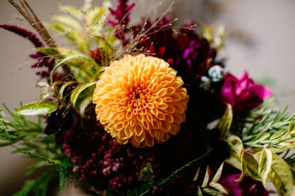 Florists Herbert and Isles use Swan Cottage Flowers for the Wedding of Sophie and Richard