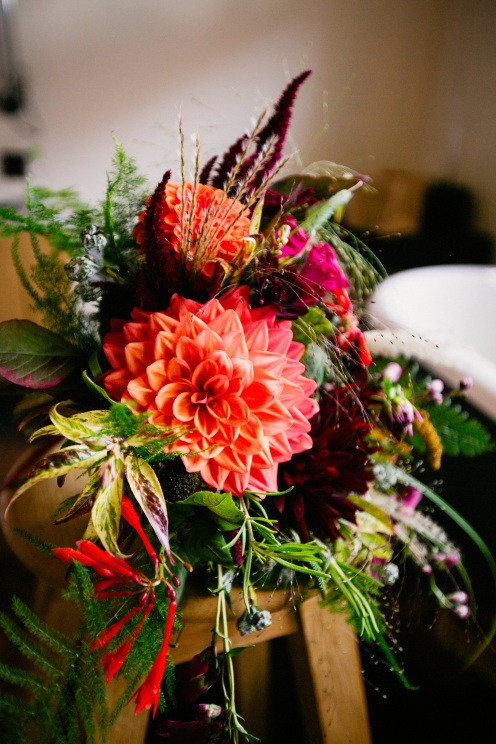 Bouquets, Florists Herbert and Isles use Swan Cottage Flowers for the Wedding of Sophie and Richard
