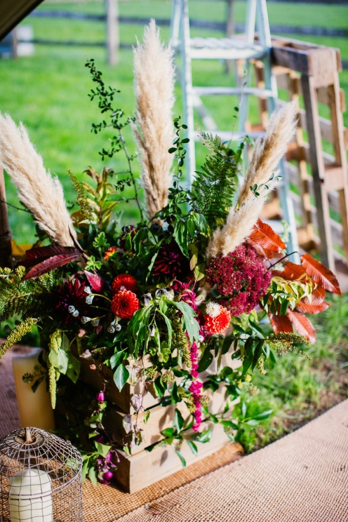 Meadow Box, Florists Herbert and Isles use Swan Cottage Flowers for the Wedding of Sophie and Richard