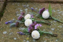 DIY Wedding Flowers, Buttonholes