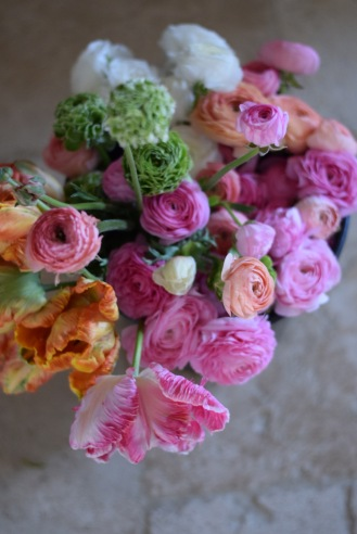 British Flowers, Bucket of Spring DIY Wedding Flowers