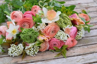 Spring Wedding Flowers in pinks and Blush