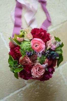 Peony Bridal Bouquet, British Seasonal Swan Cottage Flowers