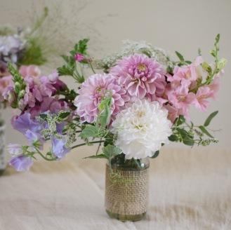 Kilner Preserve Jar, Mason Jars and Jam Jar Flowers for Weddings and Events, Swan Cottage Flowers, Buckinghamshire